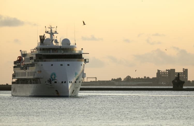 Last passengers of coronavirus-stricken cruise ship disembark in Uruguay