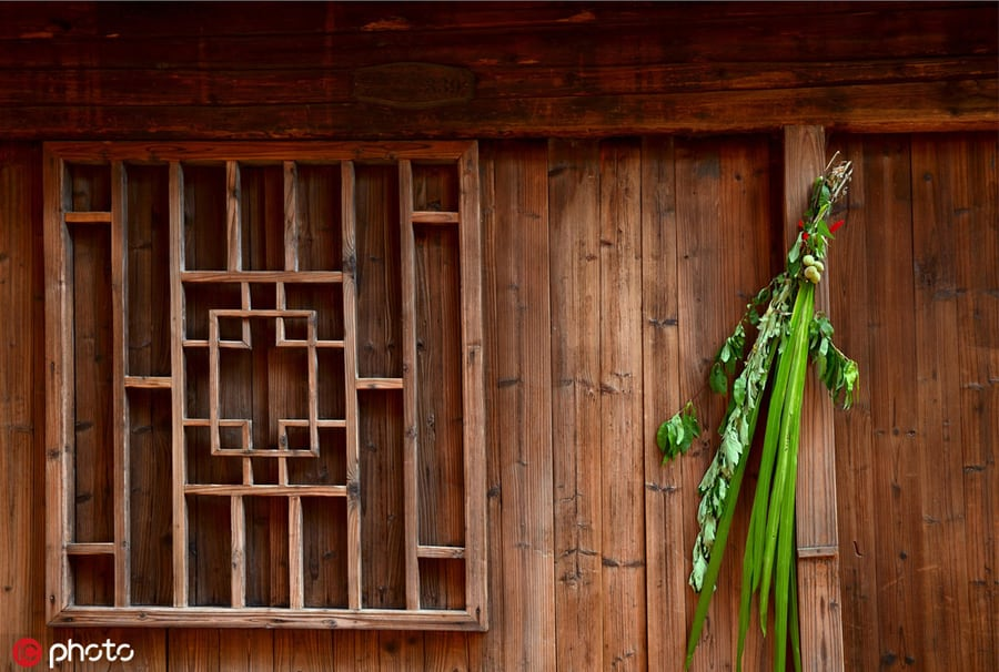Culture Insider: Dragon Boat Festival, Hanging auspicious leaves