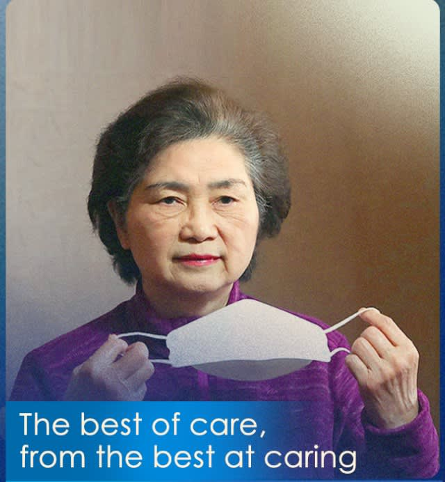 The best of care, from the best at caring—Against COVID