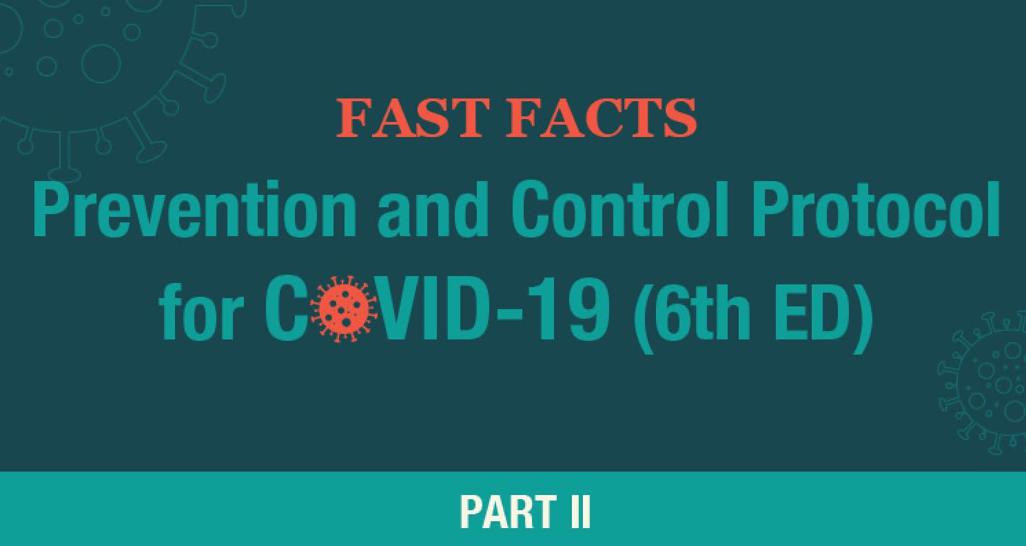 Fast Facts: Prevention and Control Protocol for COVID-19