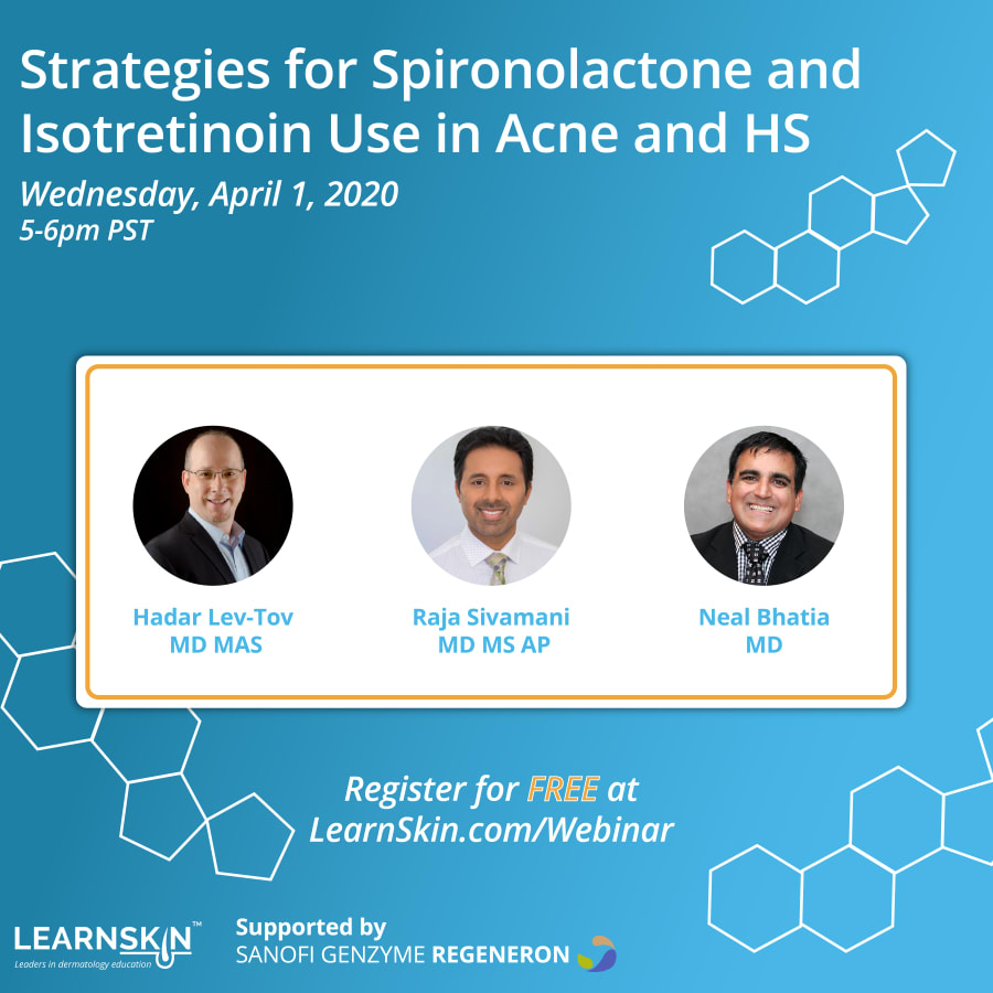 Strategies for Spironolactone and Isotretinoin Use in Acne and HS