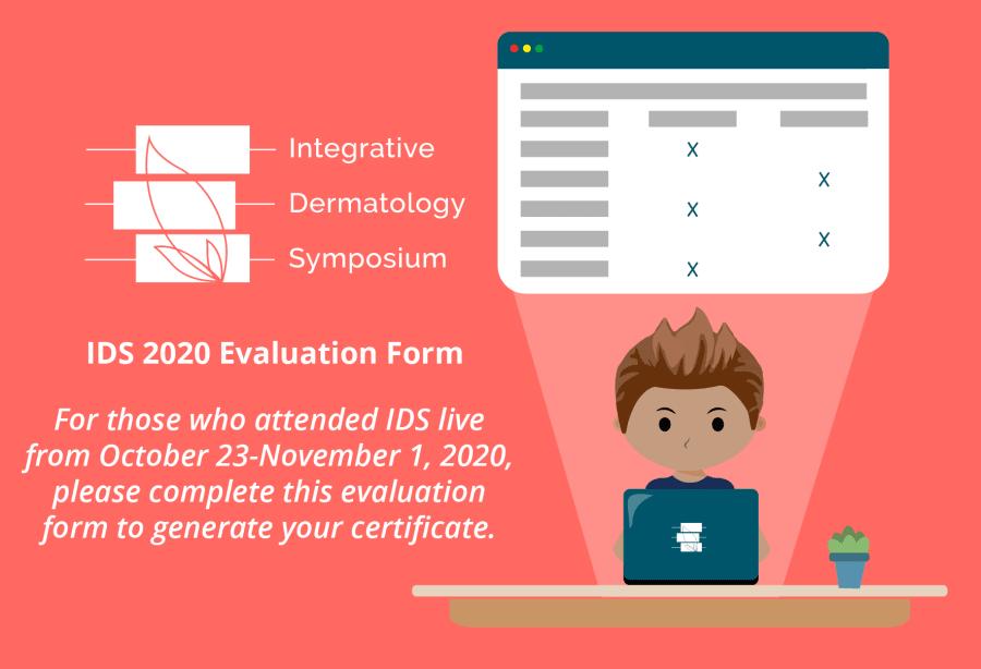 IDS 2020 Evaluation Form