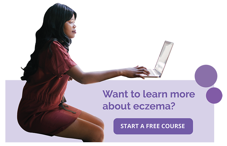 online eczema course call out