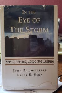 book cover of In the Eye of the Storm: Reengineering Corporate Culture