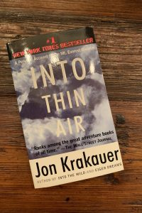 book cover of Into Thin Air: The Personal Account of the Mt. Everest Disaster