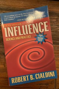 book cover of Influence: Science and Practice