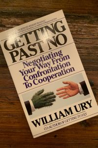 book cover of Getting Past No: Negotiating Your Way From Confrontation to Cooperation