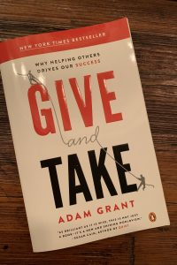 book cover of Give and Take: Why Helping Others Drives Our Success