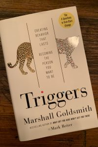 book cover of Triggers: Creating Behavior That Lasts—Becoming the Person You Want To BE
