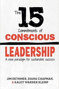 book cover of The 15 Commitments of Conscious Leadership