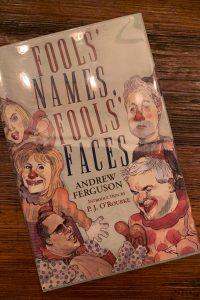 book cover of Fools' Names, Fools' Faces