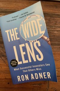 book cover of The Wide Lens: What Successful Innovators See That Others Miss