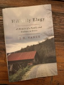 book cover of Hillbilly Elegy: A Memoir of a Family and Culture in Crisis