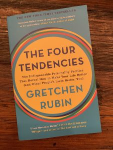 book cover of The Four Tendencies: The Indispensable Personality Profiles That Reveal How to Make Your Life Better (and Other People's Lives Better, Too)