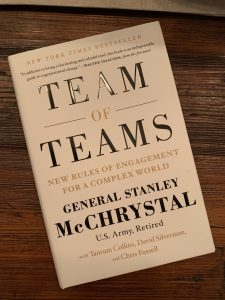 book cover of Team of Teams: New Rules of Engagements for a Complex World