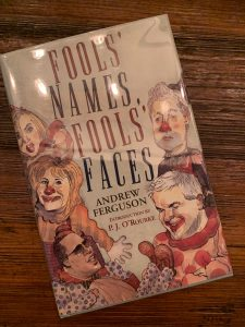 book cover of Fools' Names, Fools' Faces
