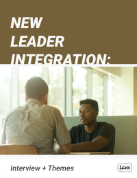 New Leader Integration