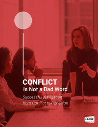 Conflict Is Not A Bad Word