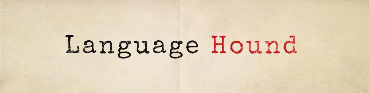 language hound header image