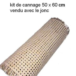 Kit de cannage en rotin qualité supérieure de 60cm