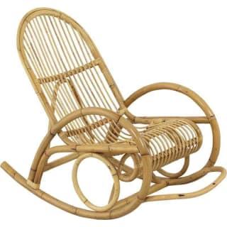 Rocking-chair en rotin, qualité supérieure.