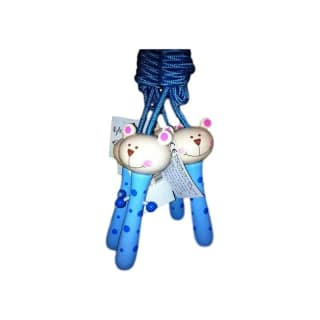 Corde à sauter, motif petit ours bleu