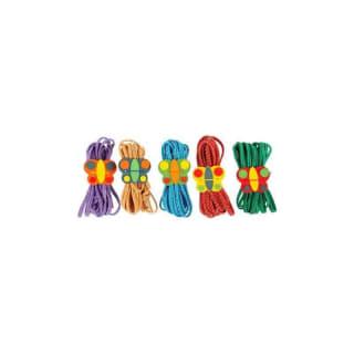 Jeu à l'elastique multicolore