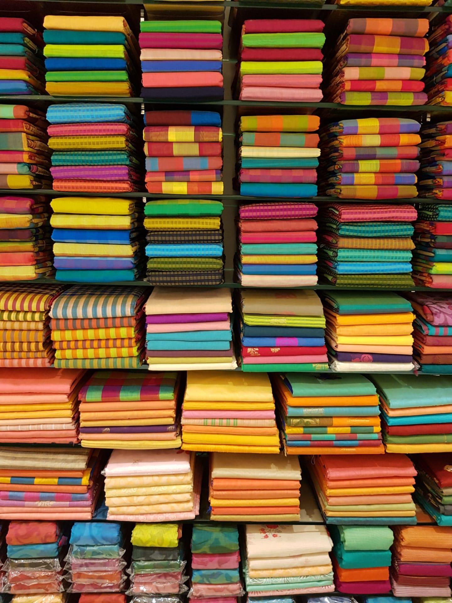 Sari fabric India
