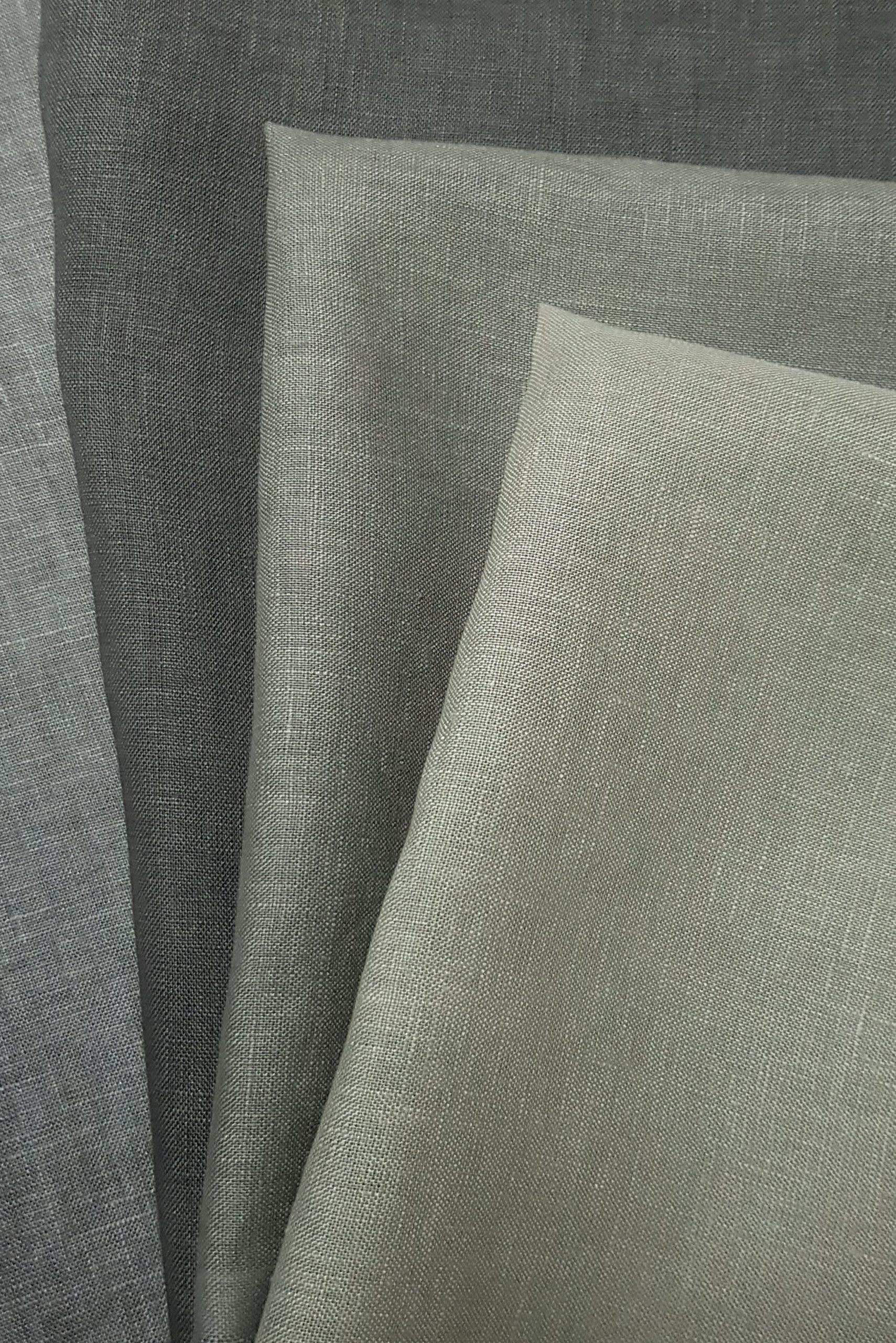Shades of Dylon Smoke Grey hand dyed