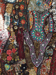 Hand embellished Indian textiles