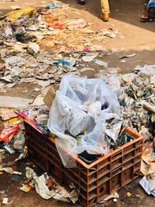 Market garbage