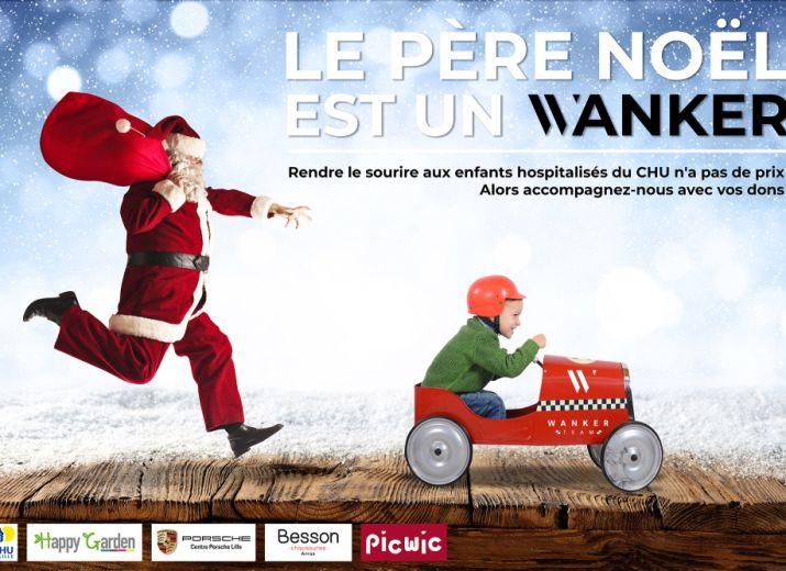 Chr Lille Noel Pere Wanker Est De Un Malade Enfants CagnotteLe 80PXwOnk