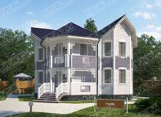 Holzhaus aus Russland