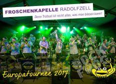 Froschenkapelle Europatournee 2017