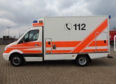 Rettungswagen für ehrenamtliche Helfer