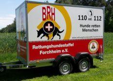 Einsatzfahrzeug für unseren PKW Anhänger (Hunde, Rettung, Menschen in Not, vermisst)