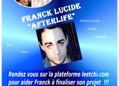 """Franck Lucide Album """"AfterLife"""""""