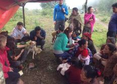 SOLIDARITE DENTAIRE AU NEPAL - VILLAGES ISOLES