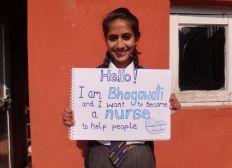 Send Bhagawati to Nursing School - 2. Jahr