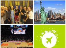 Réaliser le rêve d'une équipe de basket pour aller voir un match NBA à New York