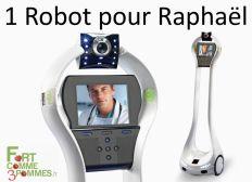 1 Robot pour Raphaël