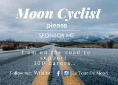 Moon Cyclist supports 100 carers