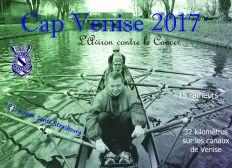 L'Aviron contre le cancer : Cap Venise 2017