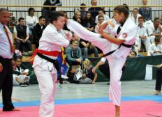 Deutsches Team zur Enshin Karate WM 2017