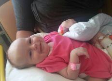 Baby Agatas Herz muss operiert werden