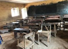 Purchase 100 New Chairs and Desks