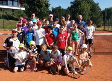 Jugendförderung Tennis-Mannschaftstrikots