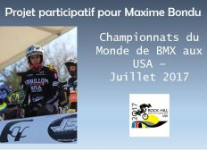 Maxime Bondu aux USA - BMX World Championships