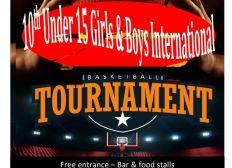Tournoi International U15 Haut Jura Basket St Claude