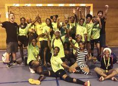 Participation aux championnats de France de nos minimes filles handball